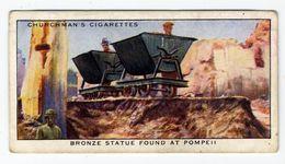 Churchman - 1937 - Treasure Trove - 19 - Bronze Statue Found At Pompeii - Churchman