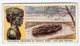Churchman - 1937 - Treasure Trove - 21 - Recovering Treasures Of Imperial Rome : Lake Nemi Drained - Churchman