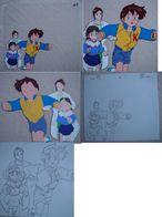 Seri Ga : Original Painted Drawing - Other