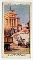 Churchman - 1937 - Treasure Trove - 22 - Treasure From The Imperial Way, Rome (bend) - Churchman
