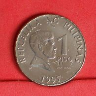 PHILIPPINES 1 PISO 1997 -    KM# 269 - (Nº19889) - Philippinen