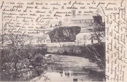 Solre Saint Géry L'Eglise Circulée En 1902 - Beaumont