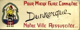 59 Pour Mieux Faire Connaître DUNKERQUE... - Carnet 10 Cartes Avec 2 Vues (avant Et Après) Au Format 7,5 X 21 Cm - Dunkerque