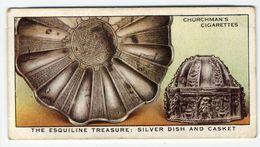 Churchman - 1937 - Treasure Trove - 23 - The Esquiline Treasure : Silver Dish And Casket - Churchman