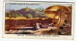 Churchman - 1937 - Treasure Trove - 25 - Royal Treasures Of Ancient Crete - Churchman