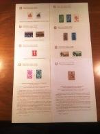 ITALIA12) REPUBBLICA 1964 BOLLETTINI ILLUSTRATIVI Completi N°106/113 - 1961-70: Mint/hinged