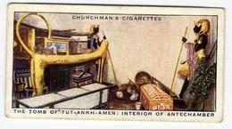Churchman - 1937 - Treasure Trove - 27 - The Tomb Of Tut-Ankh-Amen : Interior Of Antechamber - Churchman