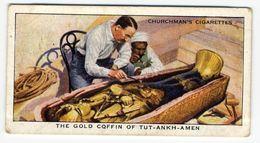 Churchman - 1937 - Treasure Trove - 28 - The Gold Coffin Of Tut-Ankh-Amen - Churchman