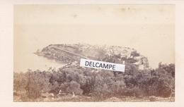 MONACO 1865 / 1870 - Très Rare Cliché Du Photographe Louis Alphonse DAVANNE Chimiste, Primitif De La Photographie - Lieux