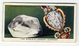 Churchman - 1937 - Treasure Trove - 33 - The World's Largest Diamond - Churchman