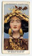 Churchman - 1937 - Treasure Trove - 36 - Golden Head-dress Of Queen Shub-Ad - Churchman