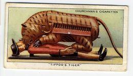 """Churchman - 1937 - Treasure Trove - 39 - """"Tippoo's Tiger"""" - Churchman"""