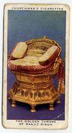 Churchman - 1937 - Treasure Trove - 40 - The Golden Throne Of Ranjit Singh - Churchman
