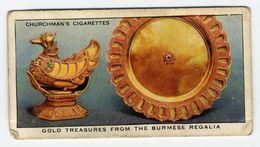 Churchman - 1937 - Treasure Trove - 41 - Gold Treasures From The Burmese Regalia - Churchman
