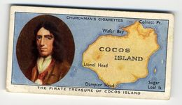 Churchman - 1937 - Treasure Trove - 48 - The Pirate Treasure Of Cocos Island - Churchman