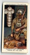Churchman - 1937 - Treasure Trove - 50 - Pearls - The Treasure Trove Of The Sea - Churchman