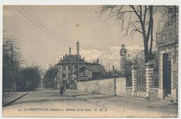 Savoie Albertville   - Avenue De La Gare  - Commerce - Hotel Attelage - Albertville
