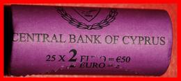 § FINLAND: CYPRUS ★ 2 EURO 2009 UNC ROLL UNCOMMON! LOW START★ NO RESERVE! - Rollos