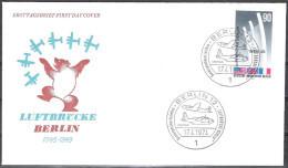 Berlin FDC1974 MiNr.466 25.Jahrestag Der Beendigung Der Blockade Berlins (d 2121 ) Günstige Versandkosten - FDC: Briefe