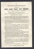 DP MOULAERT ( BRINCK ) MARGUILLIER DE SAINT - GILLES BRUGES ° BRUGGE 1869 + 1946 KERKVOOGD - Devotion Images