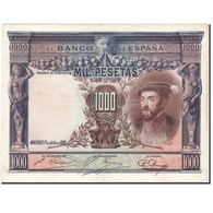 Billet, Espagne, 1000 Pesetas, 1925, 1925-07-01, KM:70c, TTB - [ 1] …-1931 : Premiers Billets (Banco De España)