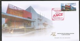 J) 2017 MEXICO, 25 YEARS OF ASSOCIATION OF STANDARDIZATION AND CERTIFICATION, EDIFICE, FDC - Mexique