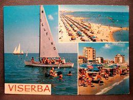 (FG.J37) VISERBA Di RIMINI - VEDUTE VEDUTINE (VIAGGIATA 1967) - Rimini