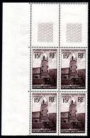COMORES - YT N° 10 X4 Cdf - Neufs ** - MNH - Cote: 14,40 € - Comores (1950-1975)