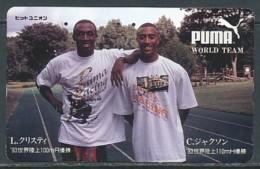 JAPAN Telefonkarte - Germany  - Sport Puma - Sport