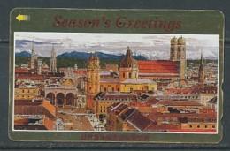 JAPAN Telefonkarte - Germany  - Stadt - 110-192843 - Landschaften