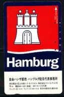 JAPAN Telefonkarte - Germany  - Hamburg - 110-44392 - Landschaften