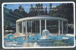 JAPAN Telefonkarte - Germany  - Baden Baden - - Paysages