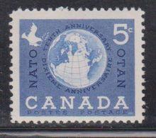 CANADA Scott # 384 MNH - World Peace - 1903-1908 Reign Of Edward VII