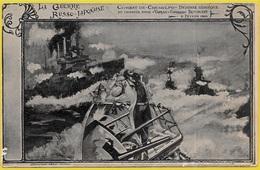CPA La Guerre RUSSO-JAPONAISE - Combat (naval) De CHEMULPO Korea - Croiseur Russe Varyag Commandant Roudnieff Russia - Corea Del Sud