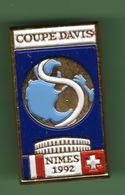 COUPE DAVIS NIMES 1991 *** 0501 - Tenis