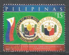 Philippines 2016. Scott #3650 (U) Senate Cent. * - Philippines