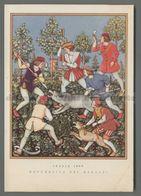 V4288 Illustrazione LA CACCIA ITALIA 1600 REPUBBLICA DEI RAGAZZI - Illustratori & Fotografie