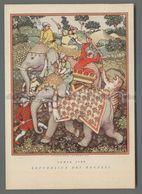 V4289 Illustrazione LA CACCIA INDIA 1700 REPUBBLICA DEI RAGAZZI - Altre Illustrazioni