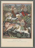 V4291 Illustrazione LA CACCIA ETIOPIA 1800 REPUBBLICA DEI RAGAZZI - Altre Illustrazioni