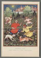 V4292 Illustrazione LA CACCIA RUSSIA 1700 REPUBBLICA DEI RAGAZZI - Illustratori & Fotografie