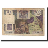 France, 500 Francs, 1948-05-13, KM:129b, TB, Fayette:34.8 - 1871-1952 Circulated During XXth