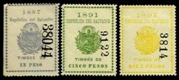 EL SALVADOR, Revenues, (*) MNG, F/VF - Salvador