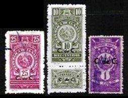 EL SALVADOR, Revenues, Used, F/VF - Salvador