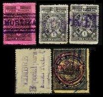 EL SALVADOR, Revenues, Used, F/VF - El Salvador