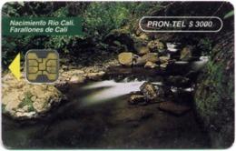 COLOMBIA : COLEM11 PRON TEL$3000 Nacimiento Rio Cali MINT - Colombia