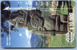 COLOMBIA : COLMT03 $10000 Monolito San Agustin USED - Colombia