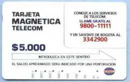 COLOMBIA : COLMT04 $5000  Conozca A Los Servicos USED - Colombia