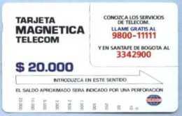 COLOMBIA : COLMT05 $20000 Conozca A Los Servicos USED - Colombia