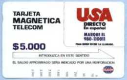 COLOMBIA : COLMT06 $5000 USA Directo En Espagnol USED - Colombia