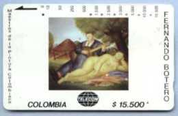 COLOMBIA : COLMT30 $15500 FERNANDO BOTERO  1972 Concierto USED - Colombia